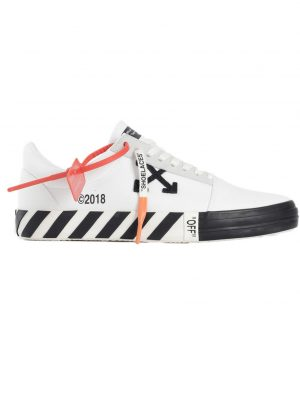 Off-White Vulc Low White (Updated Stripes)