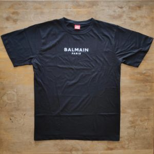 Balmain Text Logo T-shirt